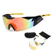 Bolle 3 Lens EV Radar TR90 Sports Cycling Glasses Men Women MTB Mountain Road Bike Bicycle