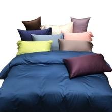 500TC египетского хлопка постельных принадлежностей queen size белый пододеяльник набор постельного белья, коричневый/серый/розовый постельные принадлежности, хлопок постельное белье