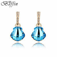 Vintage Retro Piercing Earrings Made With Swarovski Elements Crystal Long Brincos De Festa For Women Fine