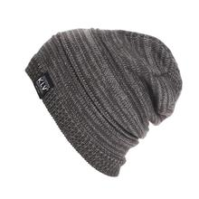 7616e865d1f Men Hat Beanie Hat Knit Men s Women s Baggy Beanie Oversize Winter Warm Hat  Ski Slouchy Chic