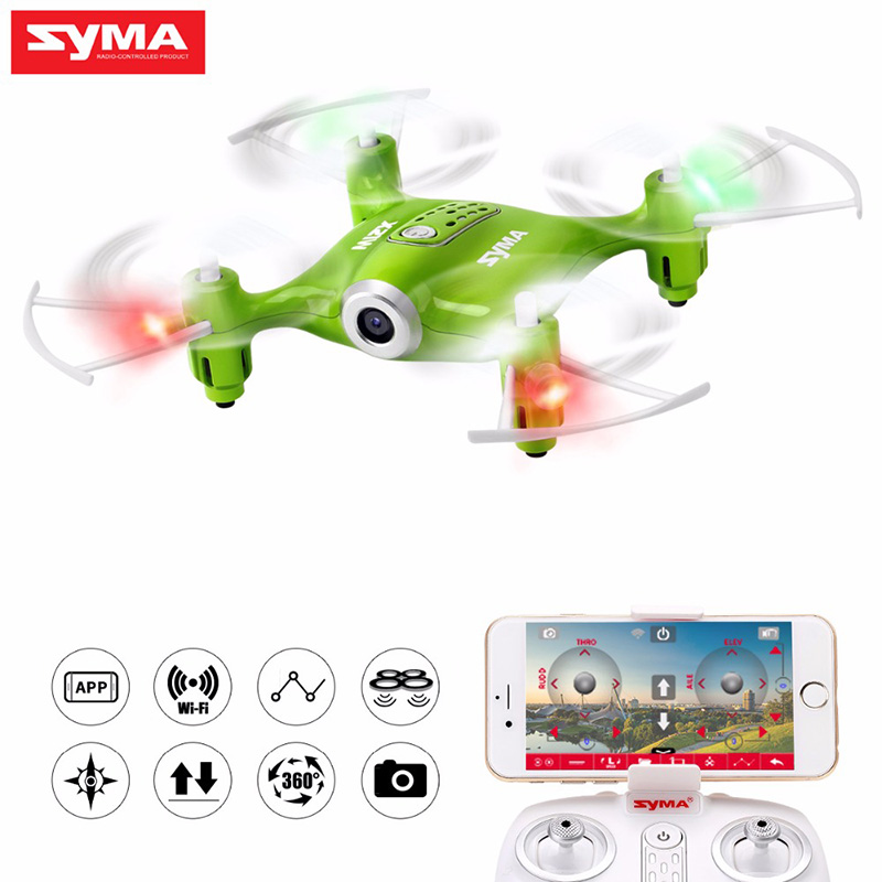 SYMA X21W  Quadcopter with Wi-fi Camera hd 720P FPV Dron RC drone 2.4GHz 4CH RC Helicopter Drones For Children Gift Toy f04305 sim900 gprs gsm development board kit quad band module for diy rc quadcopter drone fpv