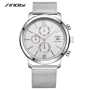 SINOBI Stopwatch Men's Watch S
