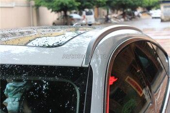 Для BMW 3 серии GT 2013 2014 2015 2016 2017 алюминиевый сплав Серебряный Топ Багажник на крыше автомобиля боковое украшение бара отделка автомобиля Стайл... >> AutoSale Pro2017 Store