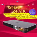 2016 XGIMI Z4 Aire Full HD DLP mini proyector portátil proyector 3D led tv beamer batería Construir-en WIFI Android 4.4 Bluetooth