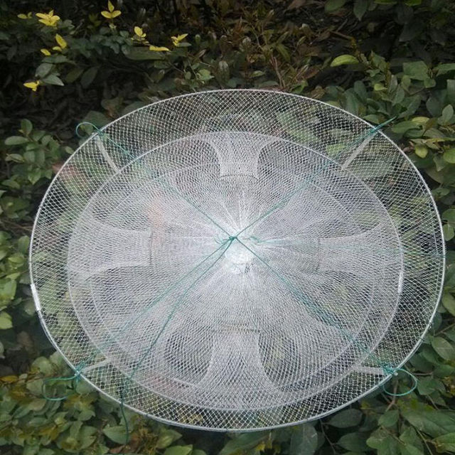 Buy small round fishing net nylon cage for Small fishing net