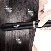 Güzellik ve Sağlık'ten null'de Isıtma düzleştirici saç düzleştirici 2 In 1 bigudi profesyonel sıcaklık ayarı Curling doğrultma LED dijital 40