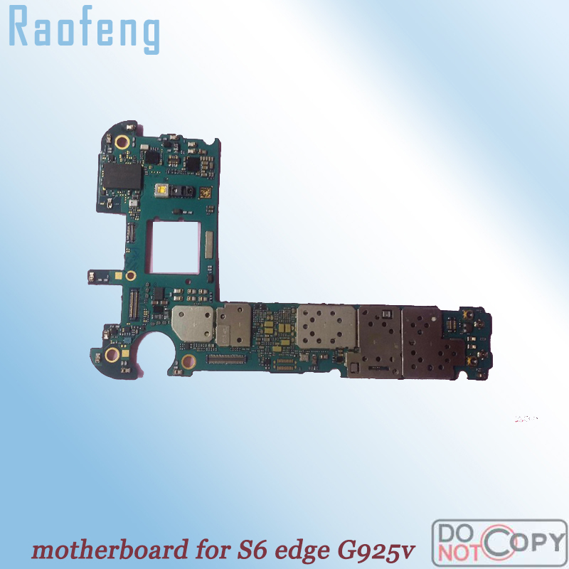 Raofeng Mainboard for Samsung Galaxy S6-Edge G925v/Motherboard/Whole-function/..  title=