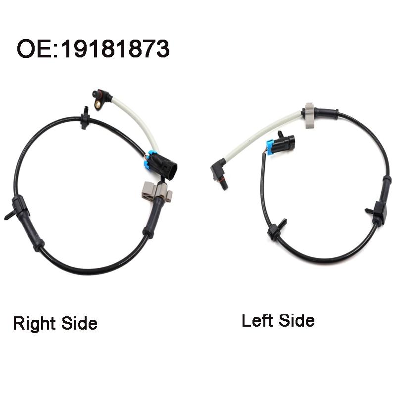 Back To Search Resultsautomobiles & Motorcycles Generous Front Left Right Abs Wheel Speed Sensor For Cadillac Escalade Chevrolet Express Silverado 1500 Suburban 1500 19181873 Crease-Resistance