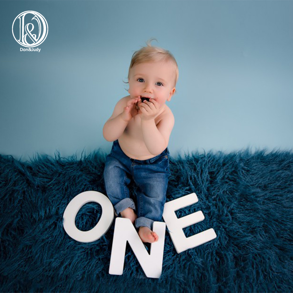 Don&Judy Size 150x100cm New Arrival Soft Long Pile Mongolia Faux Fur Newborn Photography Background Newborn photography Props