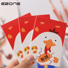 EZONE 3PCS Mini Memo Pad Printed Kawaii Lucky Cat/Chicken/Bear Notebook Portable Pocket Notepad Blank Pages Students Stationery