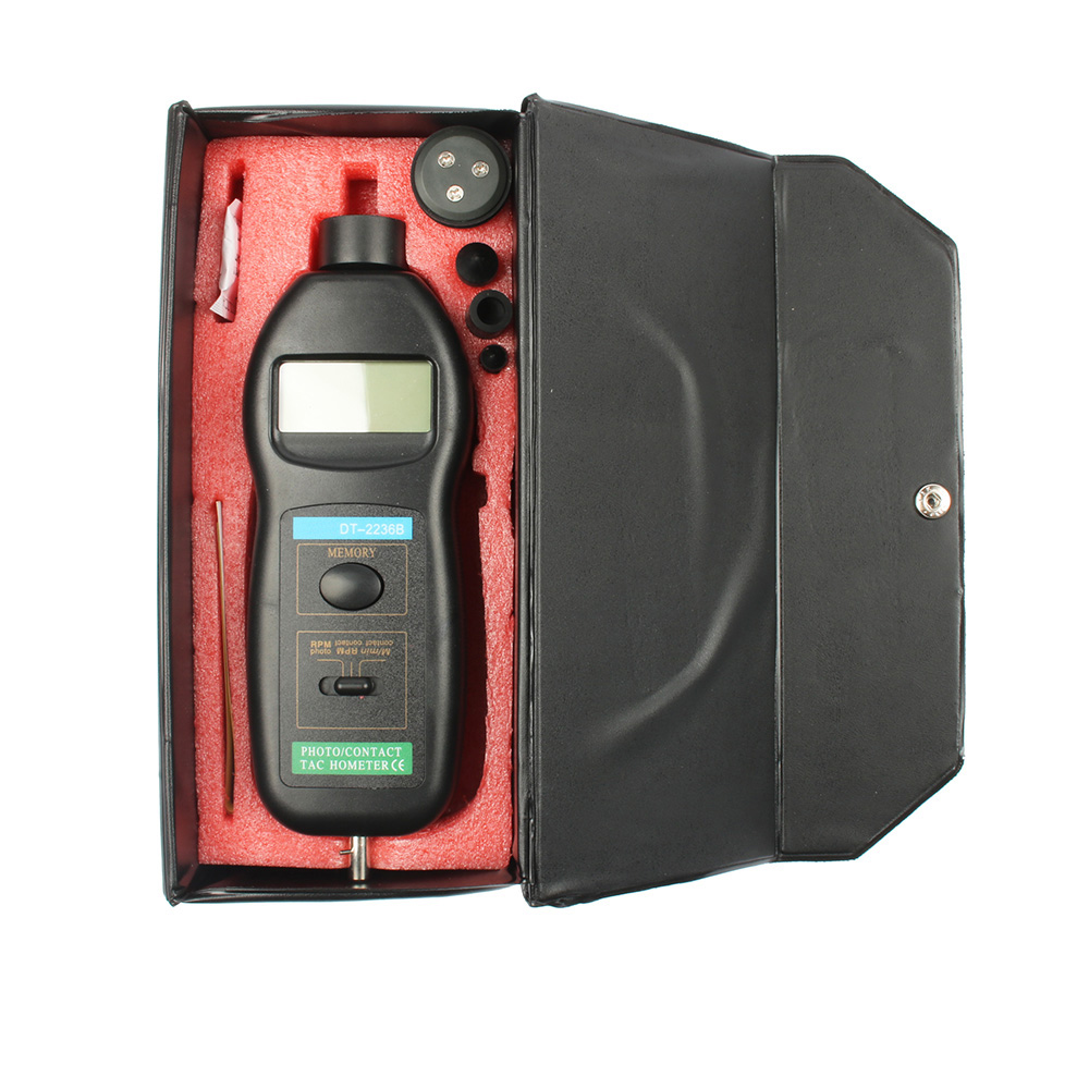 DT-2236B Photoelectric tachometer and contact tachometer two function meter