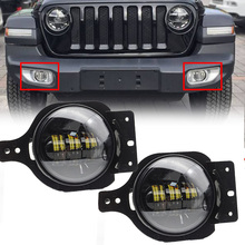 2019 Newest 4inch Led fog light  LED lamp with Halo for Jeep 2006-2010 PT Cruiser Pair