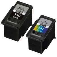 Pg-540 cl-541 xlインクカートリッジ用互換canon pixma mx455ベクタ浮动小数点mx525 mx375 mx395 mx435 mg2150 mg2250 mg3150 mg3250 mg3550