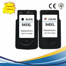 For Canon PG-545XL CL-546XL ink Cartridges for Canon Pixma iP2850 MG2450 MG2455 MG2550 MG2950 MX495 PG-545 Top Quality Ink NS28