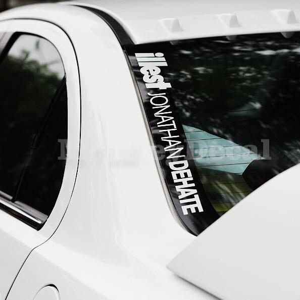 Aliexpresscom Buy Car Decal Hellaflush Illest Jonathan Dehate - Vinyl stickers for motorcyclesaliexpresscombuy hellaflush car stickers vinyl waterproof