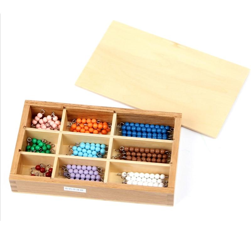 Profesjonell Montessori Math Materialer - Krystalliserte Strender av - Læring og utdanning - Bilde 2
