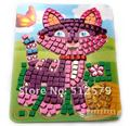Eva Mosaics Sticky Puzzle Kit for Kids Educational Colored Sticker Girl Or Boy Handmade DIY Toy