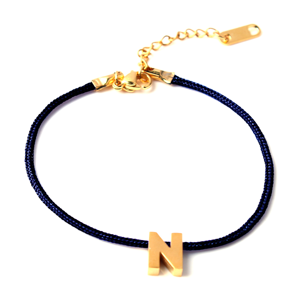 ZUUZ Bracelets Couple Bangles Charm Chain-Letters Women for Love Male Femme
