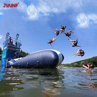 JIAINF 6/8/10*2 м надувные водные надувные прыжки надувная катапульта ПВХ надувная подушка для воды для активного отдыха спортивные по индивидуал