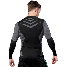 Bodybuilding Clothes Gyms Shirts For Men Long Sleeve Fitness T shirt Mma Rashguard Workout Tshirt Compression