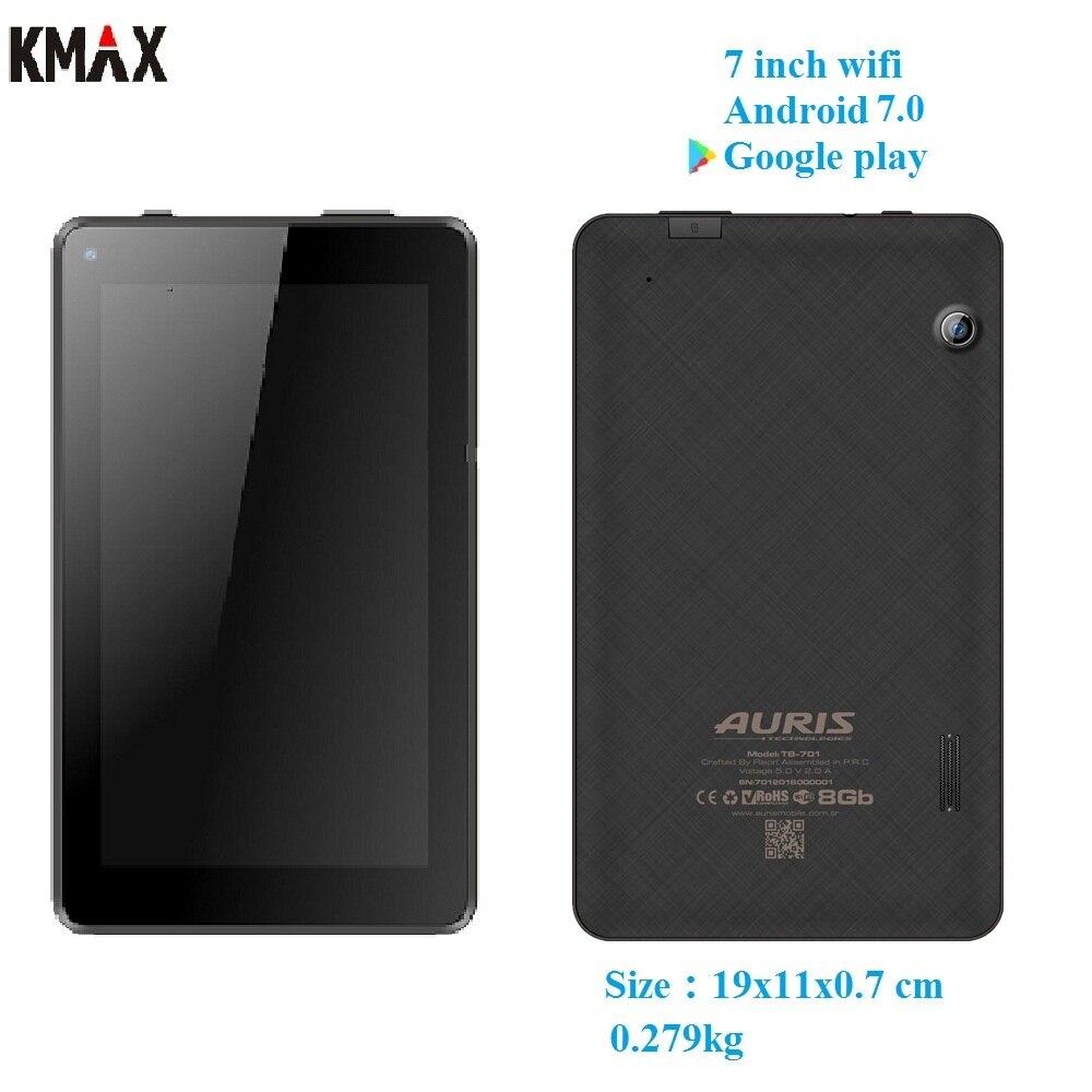 KMAX 7 polegada wifi android 7.0 tablet pc Quad core IPS Cartão TF caso de teclado mini teclado bluetooth gps 8 9 10 10.1 googlepay crianças