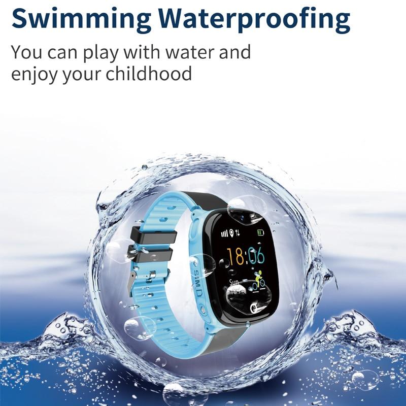 Image 2 - HW11 GPS Smart Watch Kids Waterproof Smartwatch Pedometer Smart  Watch Children SOS Call Kids Safe GPS Tracker 2G Kids SmartwatchSmart  Watches