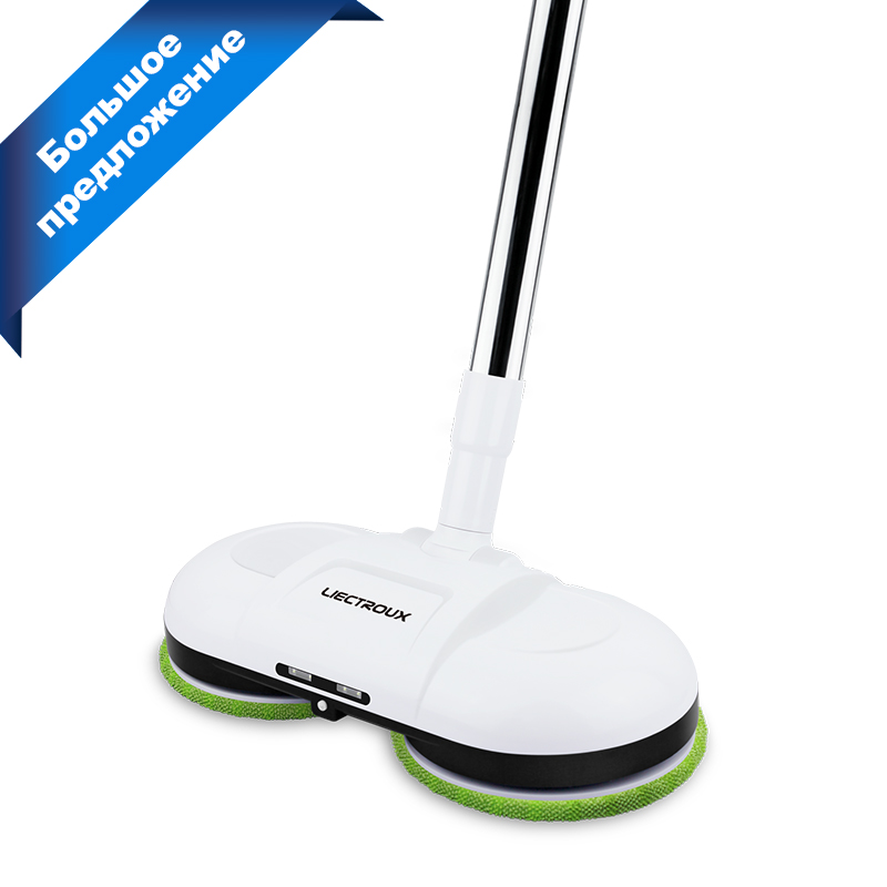 LIECTROUX F528A Handheld Wireless Electric Mop with Waxing,Water Spay,Mopping, Floor Wiper Washer Robot Non Vacuum Cleaner|Vacuum Cleaners|   - AliExpress