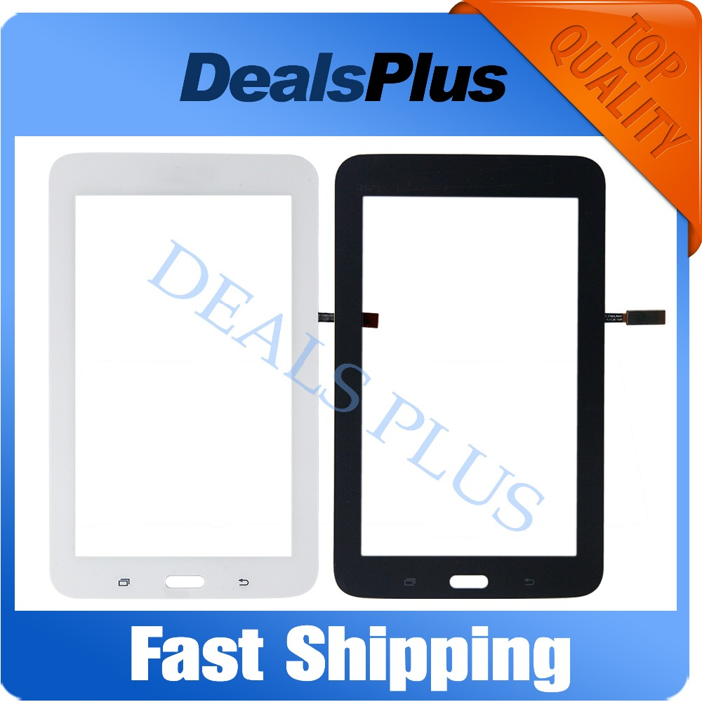 Replacement New Touch Screen Digitizer Glass For Samsung Galaxy Tab 3 Lite T113 SM-T113 Wifi Version White Black Free Shipping free tools replacement for samsung galaxy tab s 10 5 sm t800 touch screen digitizer replacement white track code