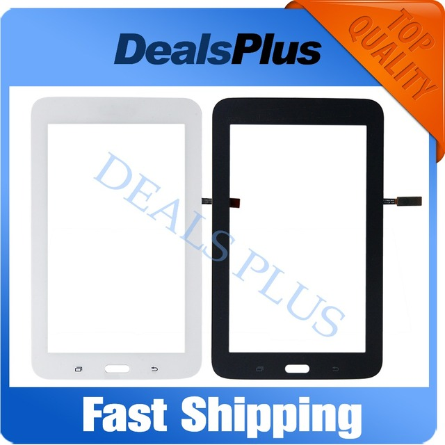 Replacement New Touch Screen Digitizer Glass For Samsung Galaxy Tab 3 Lite T113 SM-T113 Wifi Version White Black Free Shipping