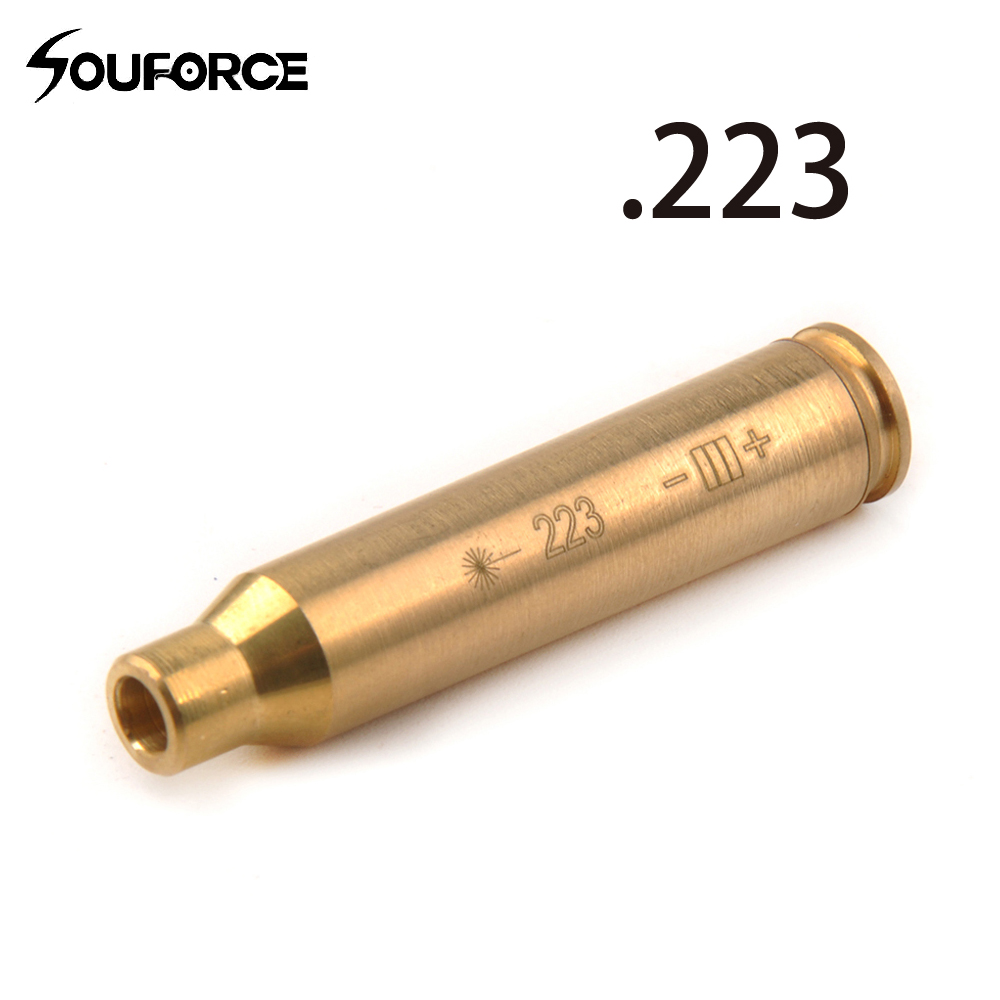 Hunting CAL. 223 Rem Red Dot Laser Bore Sighter Cartridge Boresighter of Gun Accessories
