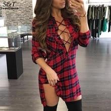 Для женщин блузка рубашка blusas Mujer de Moda 2017 пикантные осенние Рубашки для мальчиков Для женщин с длинным рукавом Кружево до плед Для женщин Блузки для малышек blusas Femme