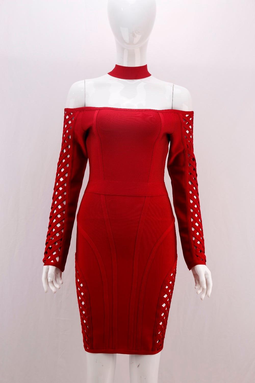 4ce5a62df1 Nouveau-Printemps-2018-Femmes -Sexy-vider-Manches-Longues-Vin-Rayonne-Bandage-Robe-2017-Designer-Robe-l.jpg