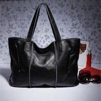 Fashion Genuine Leather Women Messenger Bags Big Size Cowhide Women Leather Handbags 7 Color Vintage Lady