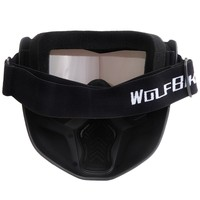 Ski Skate Motorcycle Goggle Motocross Goggles Helmet Glasses Windproof Off Road Moto Cross Helmets Mask New
