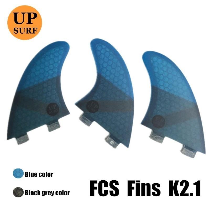 FCS K2 1 Optimum weight range 65kg 80kg Surf Fins Fiberglass Honeycomb Fibre Surfboard Fin 3 in Per Set surf board in Surfing from Sports Entertainment