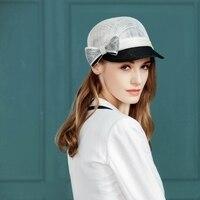 New Arrival Ladies Summer Sun Hat Female Visor Leisure Joker Baseball Hipster Hip hop Cap Fedora Banquet Derby Hats B 8142
