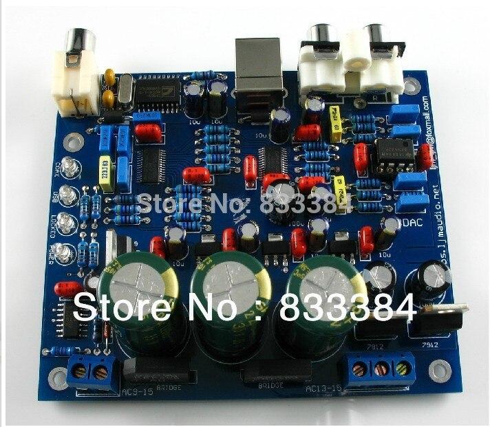 LJM--- USB DAC Kit CS8416 + CS4398 USB assembled board and tested ljm assembled