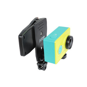 Image 4 - Rotary Clamp Mount Backpack Rec mounts Clip for Xiaomi Yi 4K Xiaoyi Lite MI Mijia 4K Mini GoPro SJCAM Sport Camera Accressories