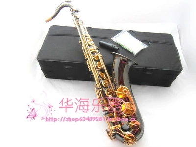 Genuine black nickel  Xinghai Double Reinforcement  B flat tenor saxophone  Professional tenor Sax