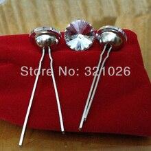 Gratis Verzending 1500 Stks/partij 20 Mm Satelliet Crystal Glass Bekleding Nagels (Gaffel)/Decoratie Kopspijkers/Bekleding Knoppen