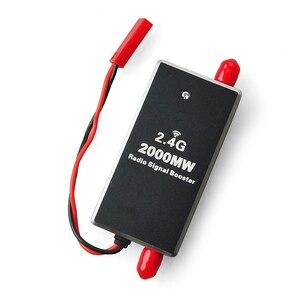 Image 1 - FPV 2.4G 2W 2000mW Mini Module amplificateur de Signal Radio pour DJI fantôme RC émetteur FPV étendre la gamme Drone accessoire