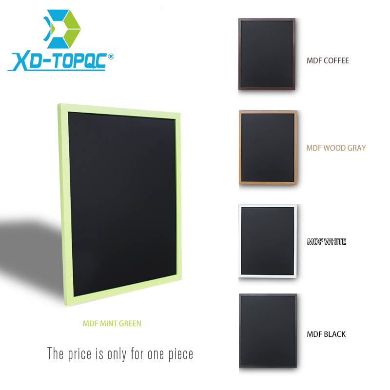 XINDI MDF Frame Chalkboard 5 Colors Wooden Blackboard 25*35cm Magnetic Chalk Board Home Decorative Message Board Free Shipping