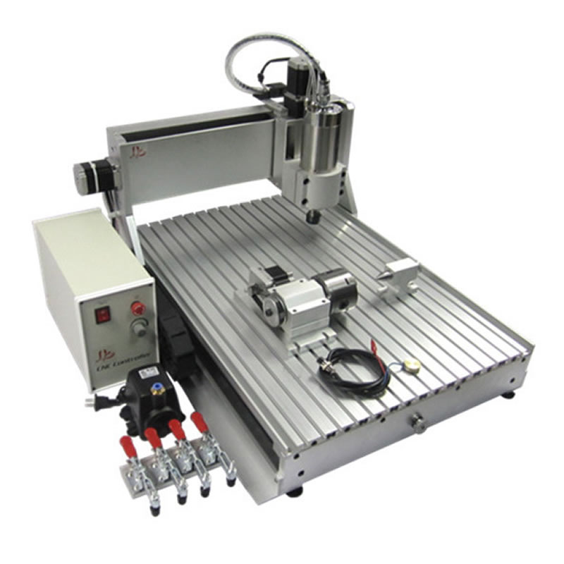 Hobby 3d cnc router 6040 Z-VFD 2.2KW spindle 4 axis cnc milling Engraving Drilling carving machine for wood stone metal aluminum 2 2kw 3 axis cnc router 6040 z vfd cnc milling machine with ball screw for wood stone aluminum bronze pcb russia free tax