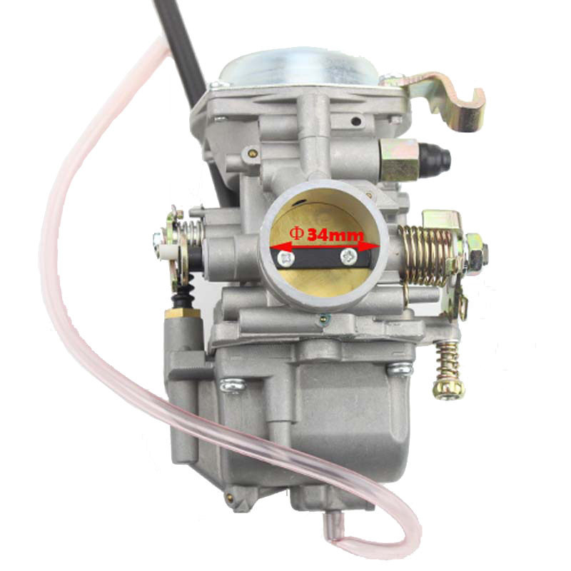 все цены на Goofit 34mm 50mm air filter motorcycle Accessories Carburetor ATV-11 JIANSHE JS400 MOUNTAIN LION 400CC ATV TANK 400ATV N090-220 онлайн