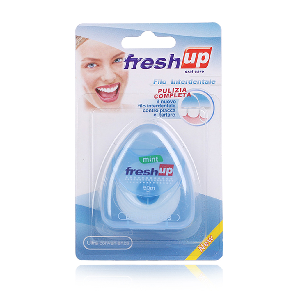 1 шт. 50 м зубная нить гигиена полости рта чистка зубов Зубная нить катушка зубочистка зубов Уход за полостью рта чистка зубов Прямая поставка