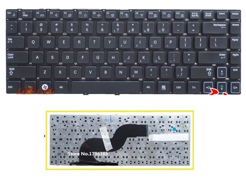 US Keyboard For Samsung Q430 Q460 RF410 RF411 P330 SF410 SF411 SF310 RV411 RC410 Q330 laptop black keyboard no frame