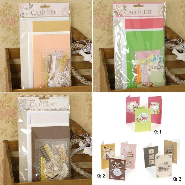 Creative diy simple card kit greeting card making kit 3 series in creative diy simple card kit greeting card making kit 3 series stopboris Image collections