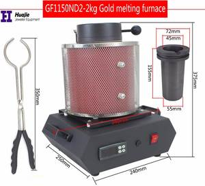 Melting-Furnace Induction-Melting Electric Ovan Jewelry Metler Metel 2KG/3KG