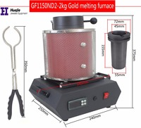 Free Shipping Electric Jewelry Melting Furnace gold melting metel metler 1KG/2KG/3KG,Induction melting ovan furnace