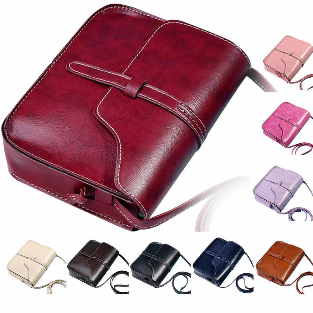 Saco de senhoras bolsa de couro do vintage cruz corpo ombro mensageiro saco bege bolsas de luxo bolsas femininas designer mulher saco # t3